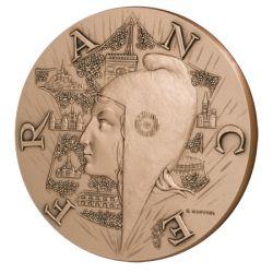 Médaille la France Fleurie