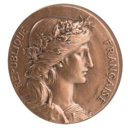 Médaille République par Dupuis