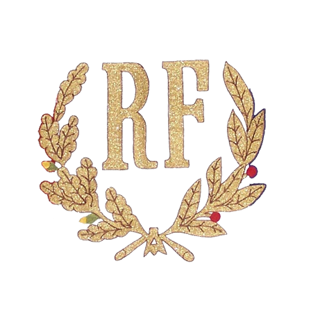 Broderie RF + Palmes