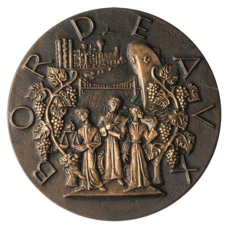 Médaille Bordeaux, ville d'Art