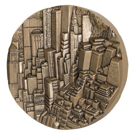Médaille New York