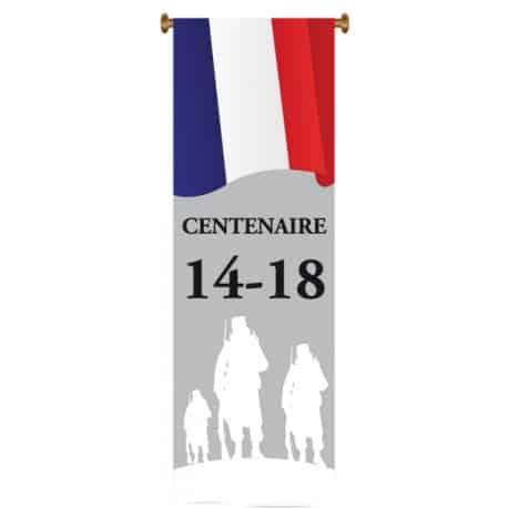 Oriflamme Centenaire Guerre 14-18