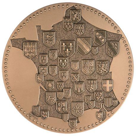 Médaille France Armes Provinces
