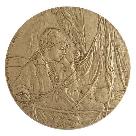 Médaille Auprès du berceau