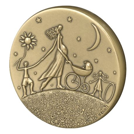 Médaille Ronde de la vie
