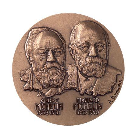 Médaille Louis et Marcel Renault