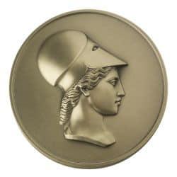 Médaille Tête de Minerve