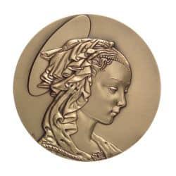 Médaille Madone de Filippo Lippi