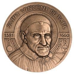 Médaille Saint Vincent de Paul