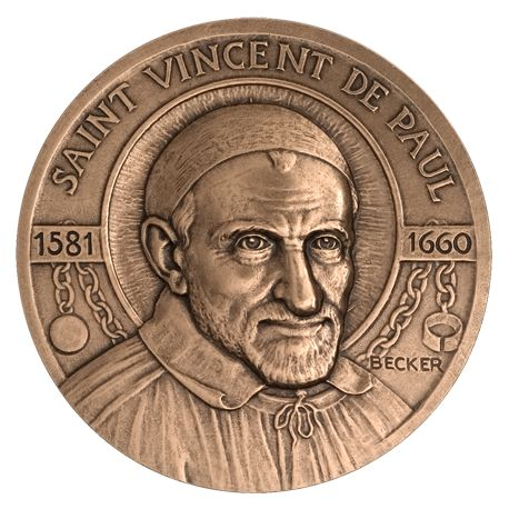 Médaille Saint Vincent de Paul