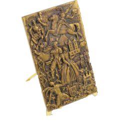 Chevalet en bronze pour médaille plaque