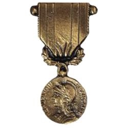 Médaille en bronze - Commémorative A.F.N.