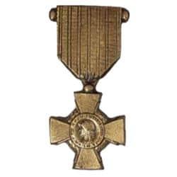 Médaille en bronze - Croix du Combattant