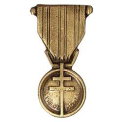 Médaille en bronze - Médaille de la Résistance