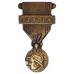 Médaille en bronze - Médaille de Verdun