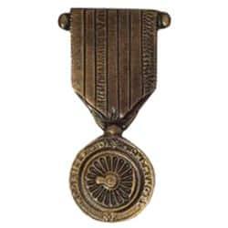 Médaille en bronze - Médaille des Chemins de Fer