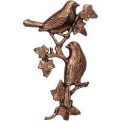 Oiseaux sur vigne