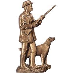 Chasseur avec son chien