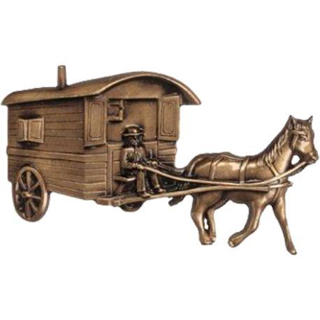 Roulotte avec cheval