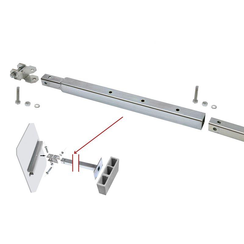 Prolongateur de fixation pour miroir routier for Fixation miroir