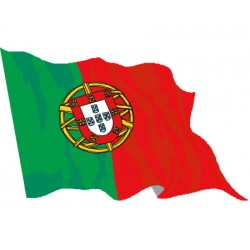 Drapeau de supporter - Portugal