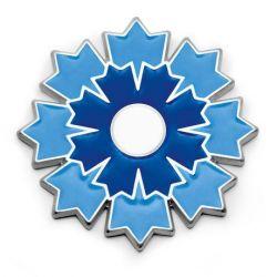 Boutonnière Le Bleuet sur attache pin's