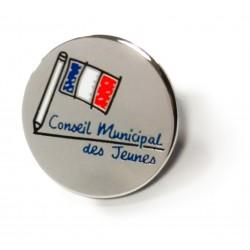 Pin's logo Conseil Municipal des Jeunes