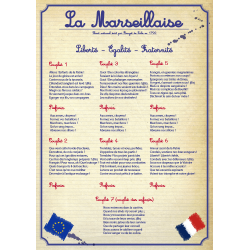 LOI BLANQUER - LOI ECOLE - MARSEILLAISE version primaire