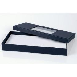 Boîte cartonnée avec fenêtre