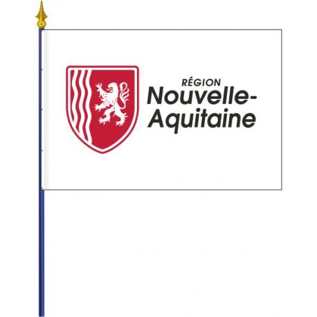 Drapeau region Nouvelle Aquitaine