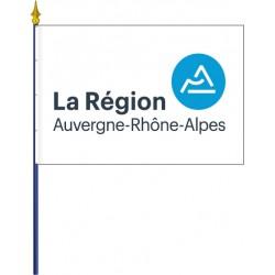Drapeau région Auvergne Rhône Alpes