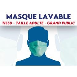 Masque en tissu Grand public