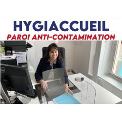 Paroi anti-contamination Hygiaccueil - PETIT modèle