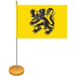 Drapeaux de table Bavière 10 x 15 cm