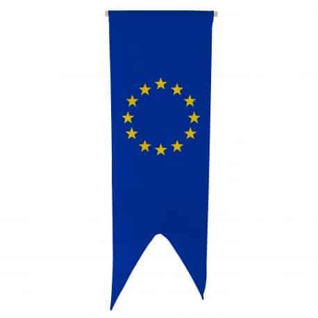 Oriflamme Union Européenne 080x300 cm