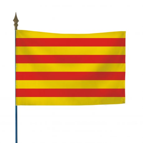 Drapeau province Catalan 50 x 75 cm