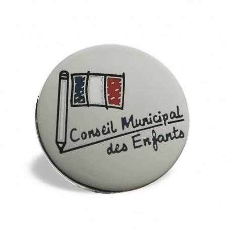 Pin's Conseil Municipal des Enfants
