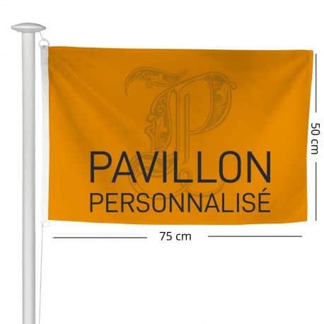 Pavillon personnalisé 50x75 cm