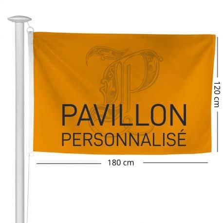 Pavillon personnalisé 120x180cm