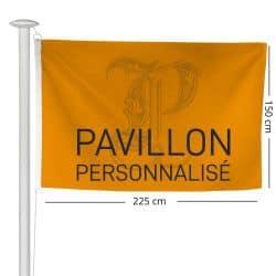 Pavillon personnalisé 150x225cm