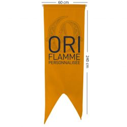 Oriflammes personnalisées 60x240 cm