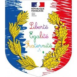 Ecusson porte-drapeaux Spécial Ecole
