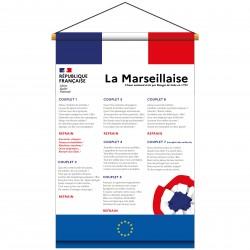 Kakémono La Marseillaise écoles, collèges, lycées