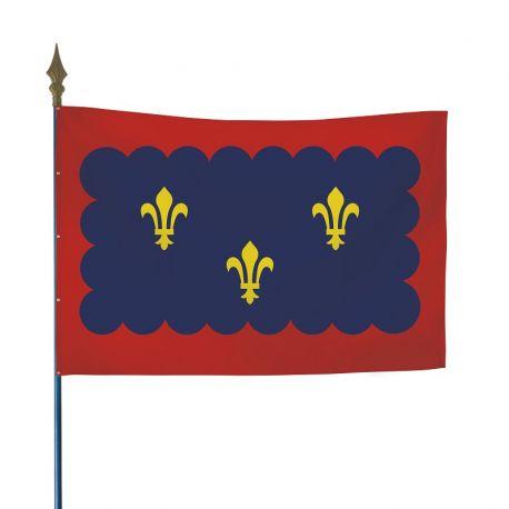 Drapeau province Berry 100x150 cm