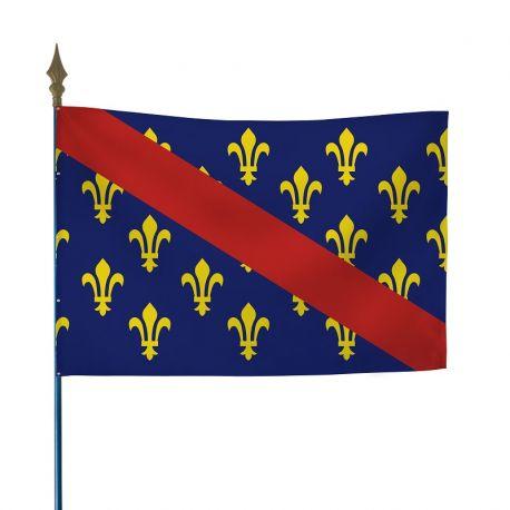 Drapeau province Bourbonnais 50x75 cm