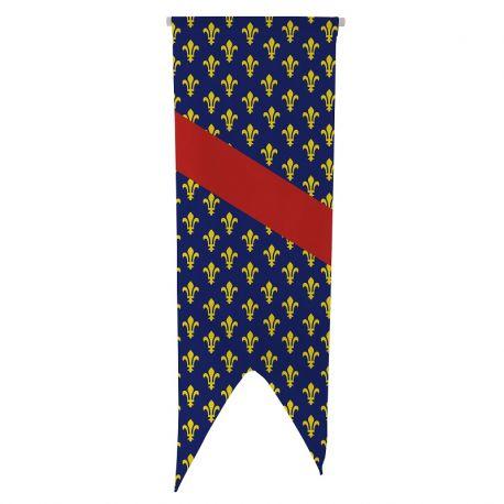 Oriflamme province Bourbonnais 080x300 cm