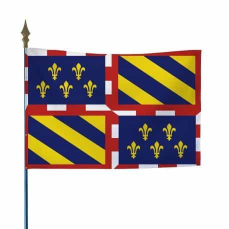 Drapeau province Bourgogne 50x75 cm