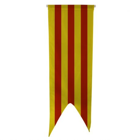 Oriflamme province Comté de Foix 80x300 cm