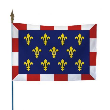 Drapeau province Touraine 50x75 cm