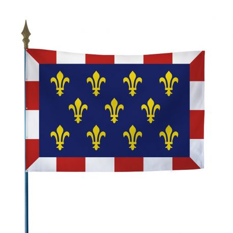 Drapeau province Touraine 80x120 cm